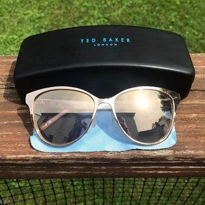 Ted Baker Gold Lenses and Framed Sunglasses